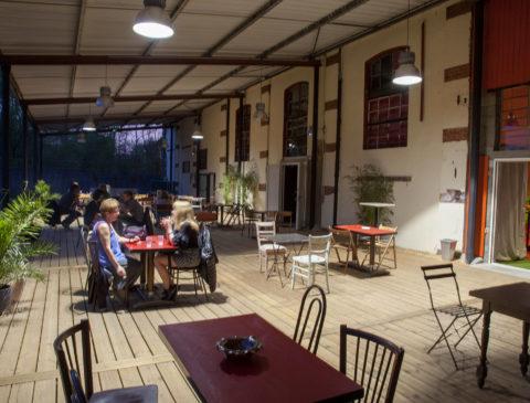 Grande terrasse entreprise colloque Location Privatisation Metz